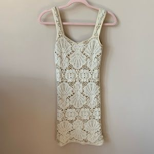 Free People Intimately nude lace bodycon dress 122